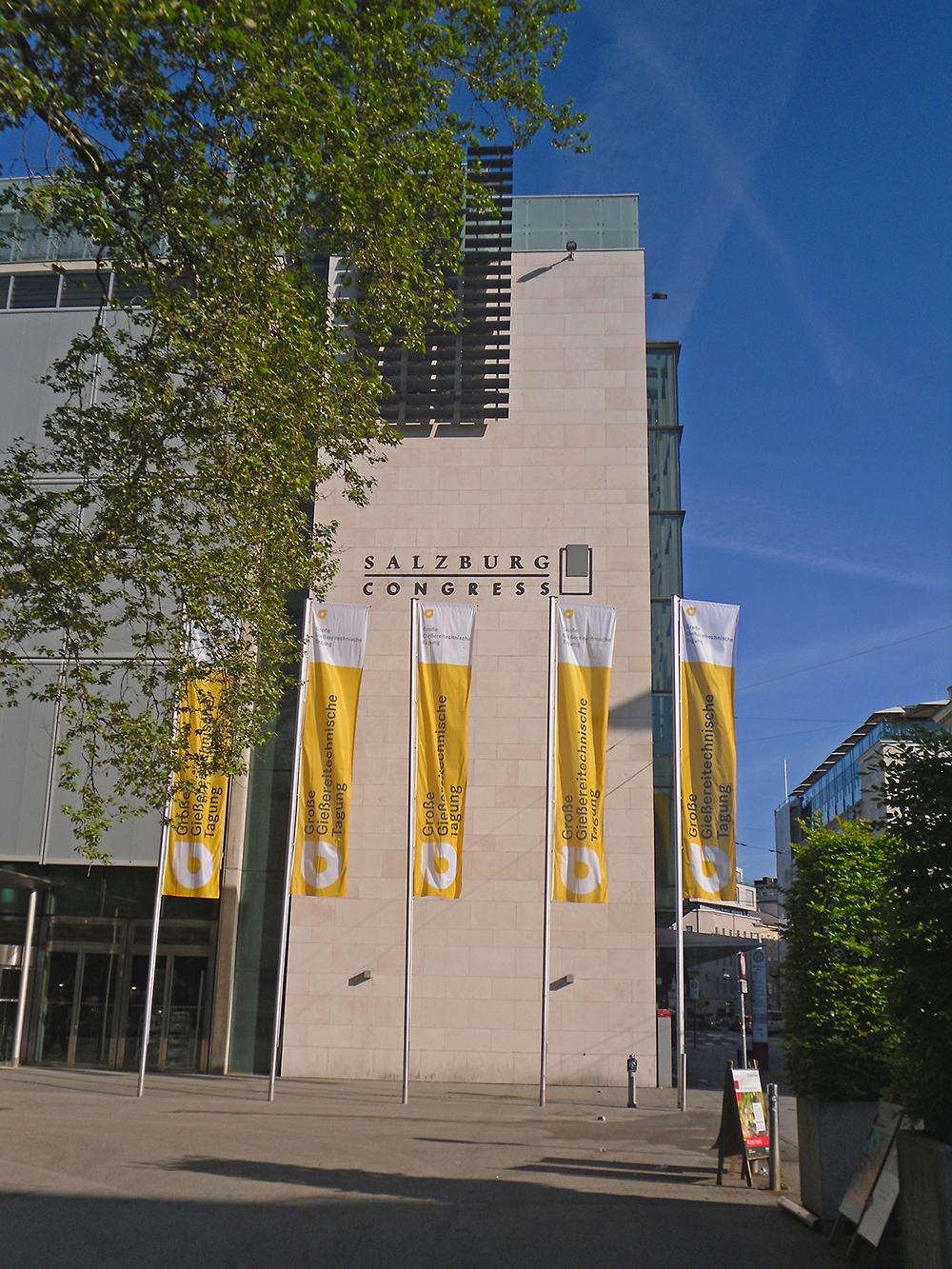 Gießereitag im Kongresszentrum Salzburg (Foto: F. Hanzig |apromace data systems GmbH)