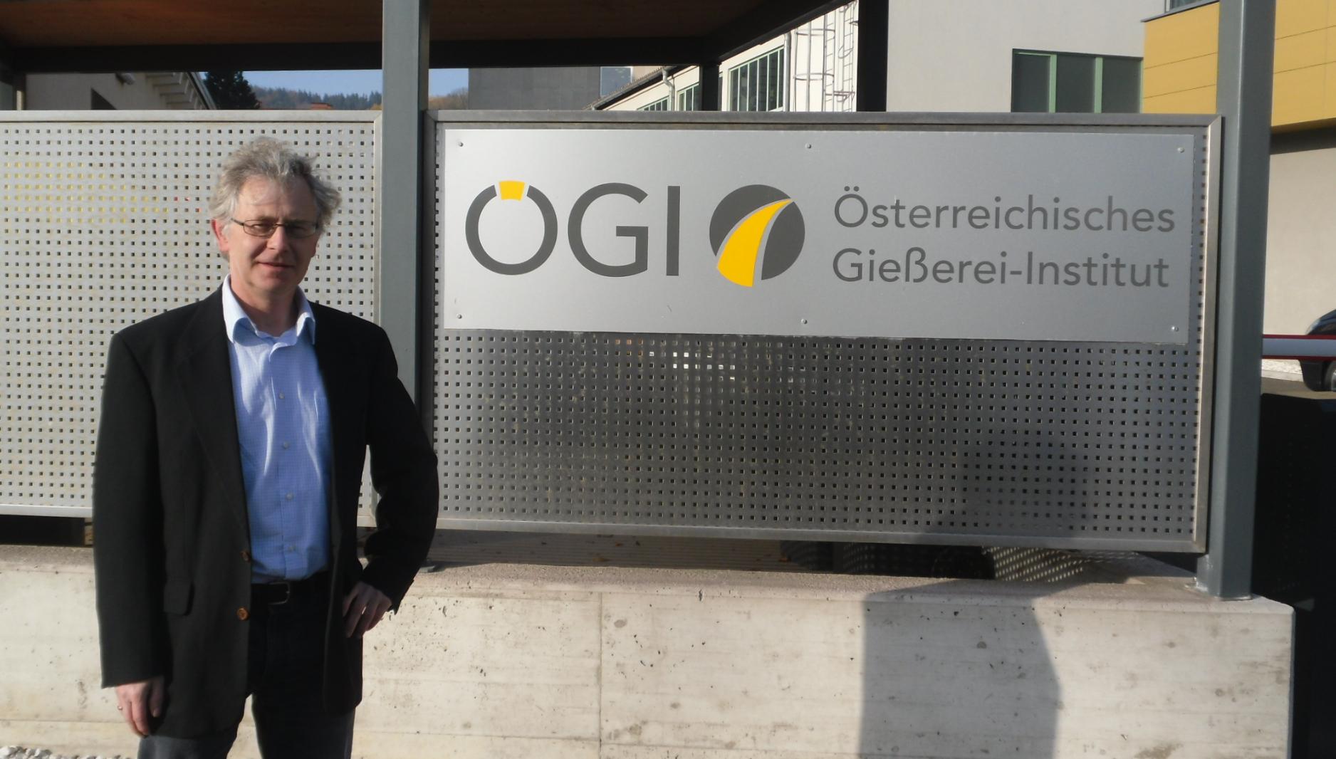 Teile des TA-Entwicklerteams zu Gast am Österreichischen Gießereiinstitut in Leoben (Foto: F. Hanzig | apromace data systems GmbH)